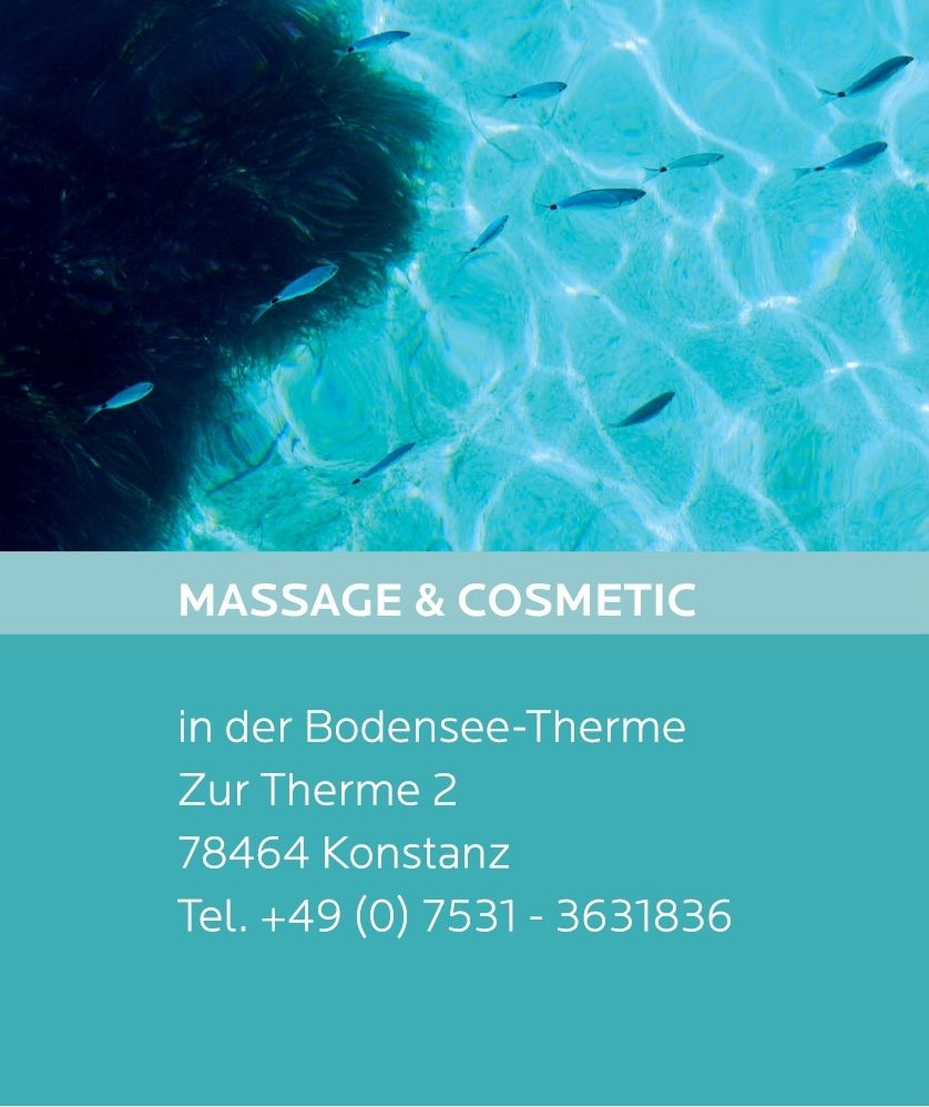 Massage und Kosmetic in der Bodensee Therme